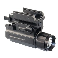 Flashlight Laser Combo With Quick Release Lever