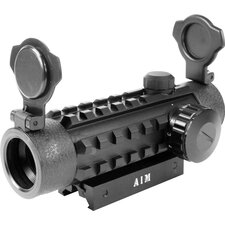 <strong>Aim Sports Inc</strong> Dual Illuminated Dot with Integral Weaver Rails in Red / Green