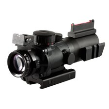 4X32 Tri Illuminated Scope with Fiber Optic Sight