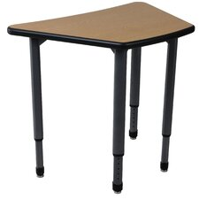 <strong>Paragon Furniture</strong> Adjustable Height Student Desk with Teach-It