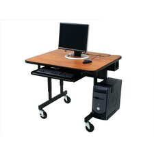 Classic Flip Top Computer Table