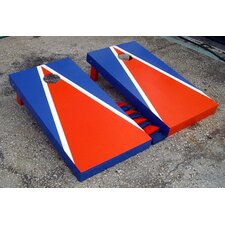 <strong>Victory Tailgate</strong> Matching Triangle Cornhole Bean Bag Toss Game