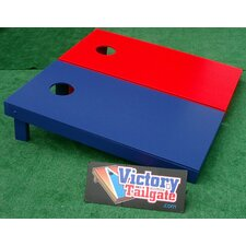 <strong>Victory Tailgate</strong> Mixed Solid Color Cornhole Bean Bag Toss Game