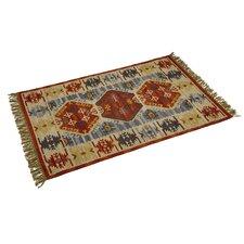 Kilim Kasbah Design Hand Woven Oriental Rug