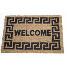 Welcome Message Doormat