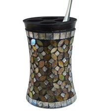 Mosaic Rainbow Toothbrush Holder