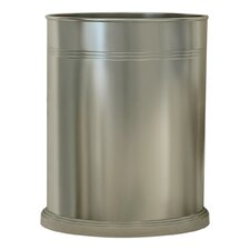 <strong>NU Steel</strong> Dual Ridge 1.75-Gal. Wastebasket