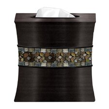 Mosaic Rainbow Boutique Tissue Box