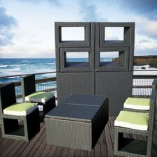 Deck-Cetra 6 Piece Lounge Seating Group with Cushions