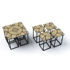 Saldanha 4 Piece End Table Set