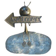 Welcome Ant Garden Sign