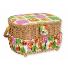 Lil' Sew & Sew 42 Piece Sewing Basket Set