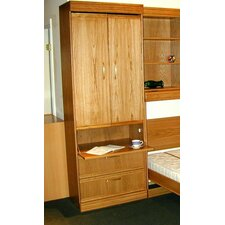 Contemporary Oak Guest Cabinet