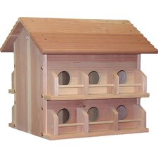 Deluxe Redwood Martin House With Rails