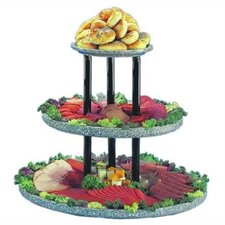 <strong>Buffet Enhancements</strong> Chefstone 3 Tier Display Riser