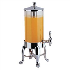 2 Gallon Deluxe Juice Dispenser with Chrome Legs