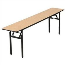 "<strong>Buffet Enhancements</strong> 72"" x 18"" Rectangular Folding Table"