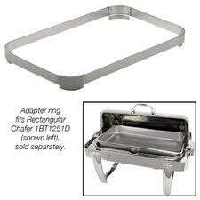 "Chafing Dish Adapter Ring for 10"" Food Pan"