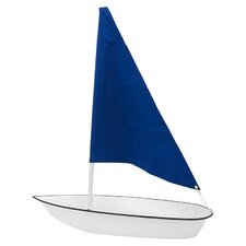 "Iced Seafood 57"" Sailboat Display"