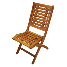 Folding Hardwood Side Chair