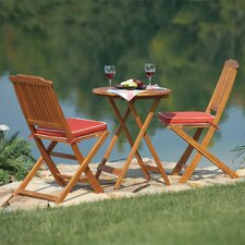 <strong>Outdoor Interiors</strong> 3 Piece Bistro Set