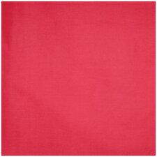 Red Solid Poly Cotton Cover
