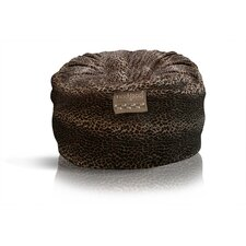 Mod Pod Deluxe Leopard Suede Bean Bag Chair