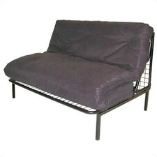 <strong>Elite Products</strong> Modern Loft E-Frame Futon and Mattress