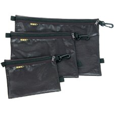 Large Organizational Quick Pack Flash Pouches in Black