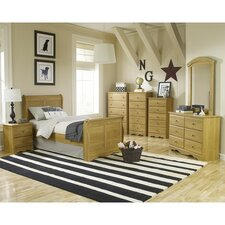 Oak Creek Sleigh Bedroom Collection