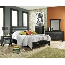 Black Earth Panel Bedroom Collection