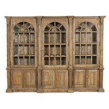 """Triple Arched 85.75"""" Bookcase"""