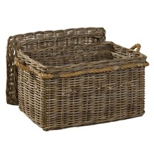 South Beach Rectangular Covered Basket