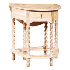 Gateleg Rope Twist End Table