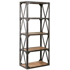 "Bleeker Recycled Narrow 79"" Bookcase"
