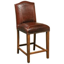 Blake Leather Stool