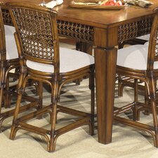 "Fiji Gathering 24"" Bar Stool with Cushion"