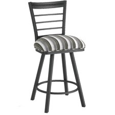 "Dallas 30"" Swivel Bar Stool with Cushion"