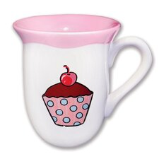 <strong>Omniware</strong> Everyday Cupcake Polka Dots Mug