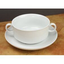 Culinary French Onion with Saucer (Set of 4)