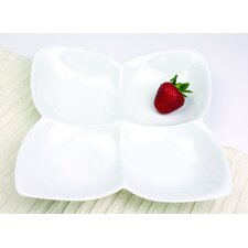 <strong>Omniware</strong> Entertainment Serveware Square Butterfly Serving Dish