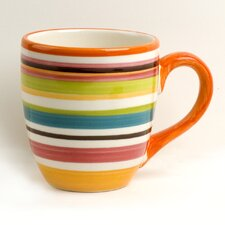 Rio Multistriped 14 oz. Mug (Set of 4)