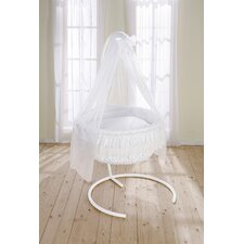Dream Rondo Hanging Crib in White