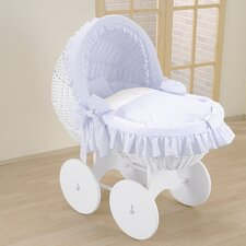 Kids Nostalgic Crib in Blue