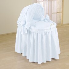 Dream Full Length Hood Crib in Blue