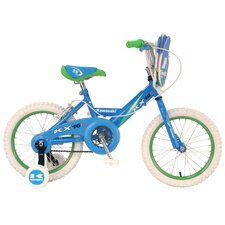 <strong>Kawasaki</strong> Girl's KX16G BMX Bike with Training Wheels