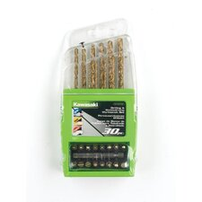 30 Piece Drill and Drive Bit Set