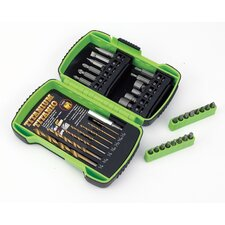 21 Piece Drilling and Screw Driving Set