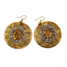 Wire Web Earrings