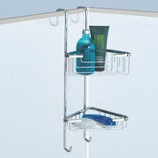 Double Corner Hanging Shower Caddy